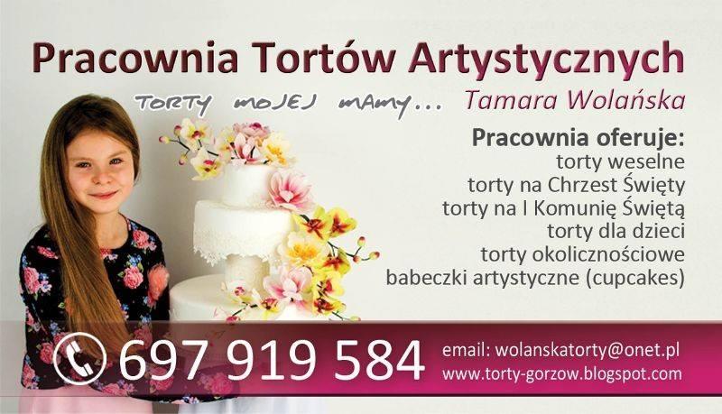 Pracownia Tortów Artystycznych Tamara Wolańska