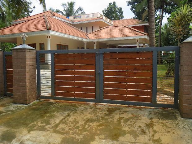 Nice Kerala Gate Design October 2013