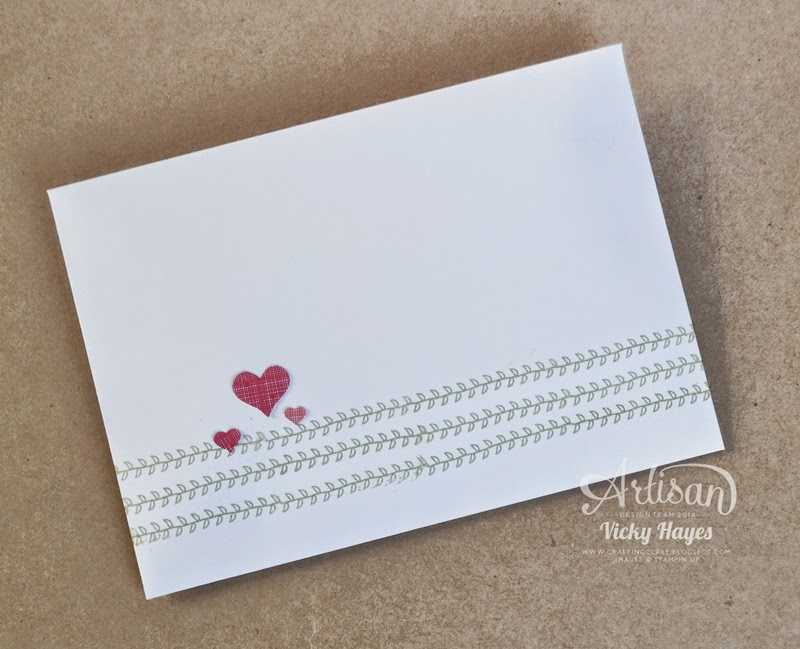 Decorate a matching envelope with From the Garden by Stampin' Up