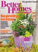 Better Homes and gardens free magazine subscription