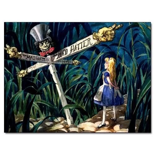 Alice in Wonderland Wikiquote - frasi alice in wonderland bianconiglio