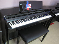 Roland HP505 Polished Ebony