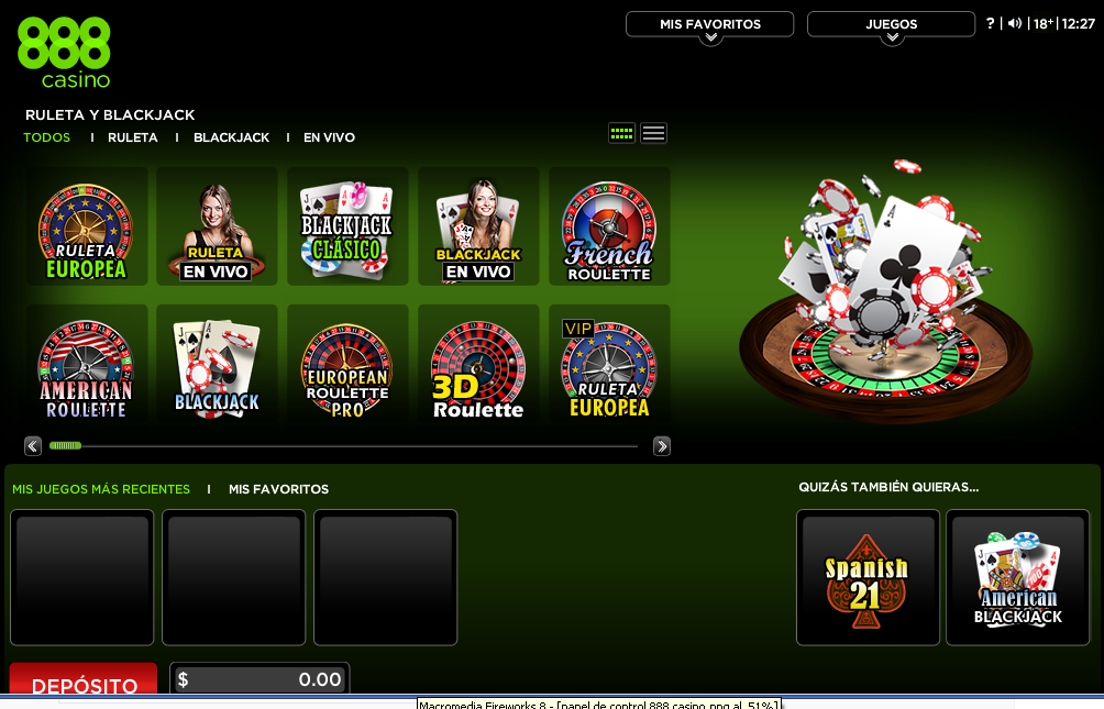 casino 888 ruleta