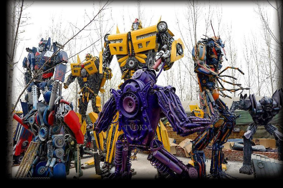 real transformers in earth