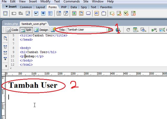 Membuat Insert Data MySQL dengan PHP Tanpa Coding