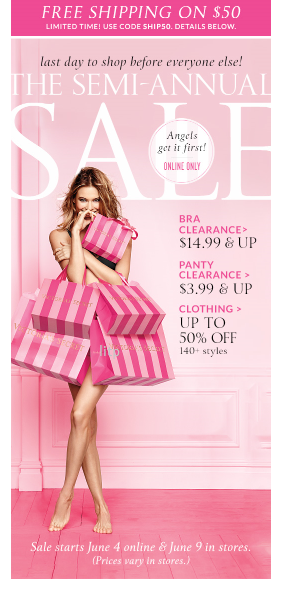 Victoria's Secret | Semi Annual Sale