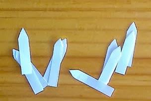 Como fazer margaridas de papel passo a passo