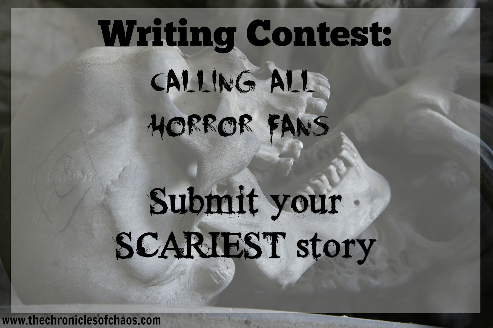 english essay horror story Learning how to write a horror story means knowing how to evoke fear in readers, the elements of tragedy and more (oxford english dictionary).