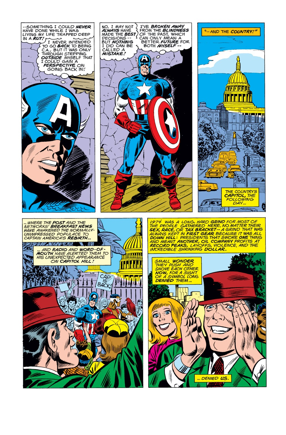 Captain America (1968) Issue #184 #98 - English 8