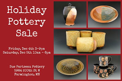 http://suepariseaupottery.com/holiday-pottery-sale