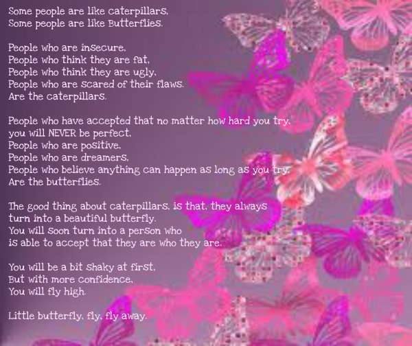 Todays Seed Free Verse Butterfly Fly Away
