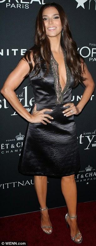 Rosalyn Sanchez Black Satin Dress Satin Lite House