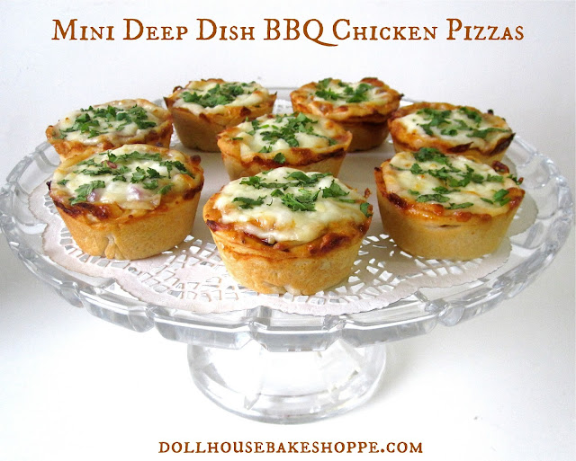 Lindsay Ann Bakes: {VIDEO} Mini Deep Dish Cupcake Pan Pizzas ...