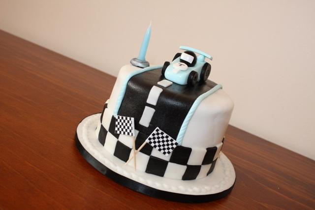 bakingmummy Race Car Birthday Cake