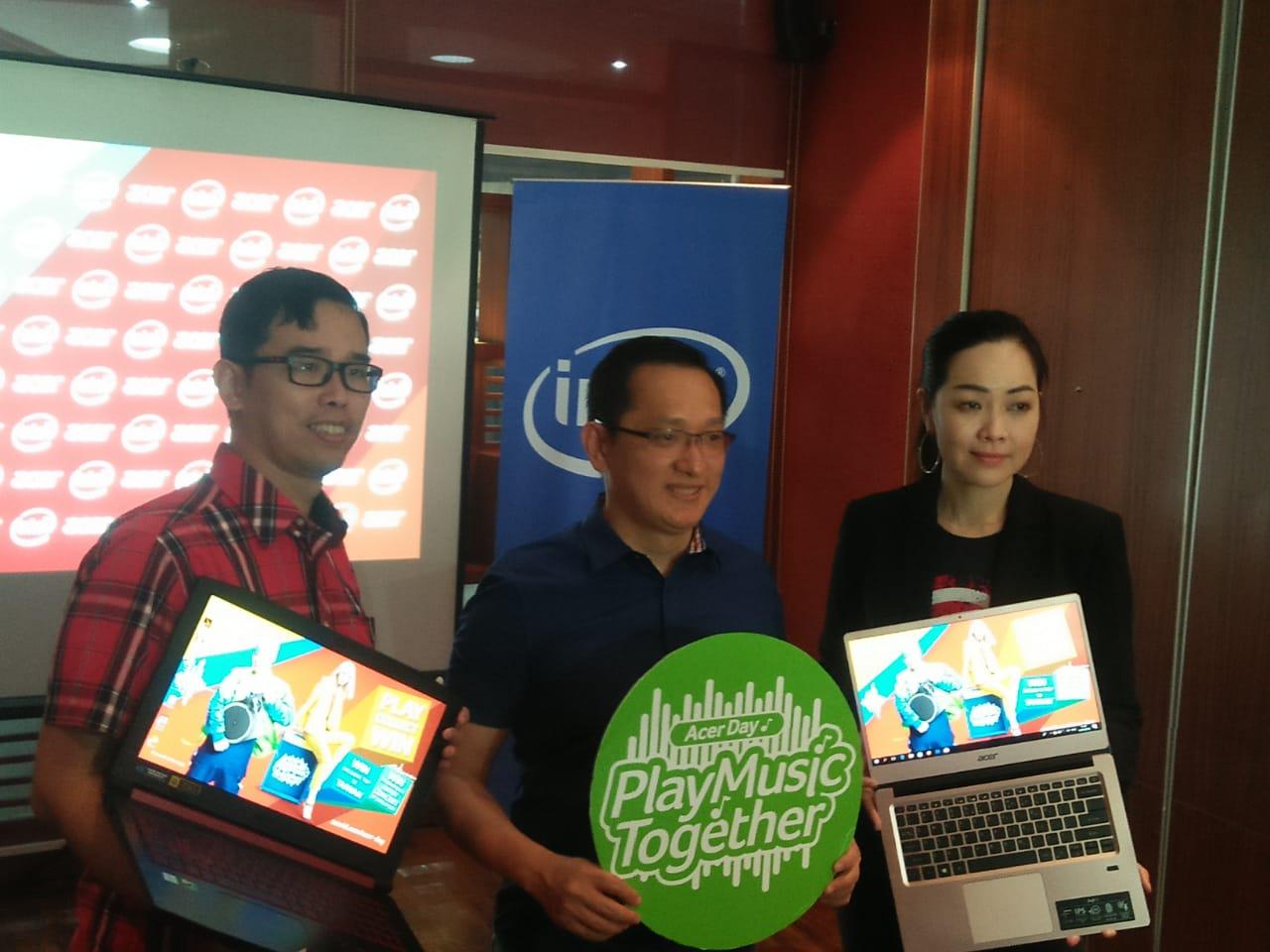 Hadirkan Swift 3 Acer Day 2018 Special Edition Gebrak Pasar Medan