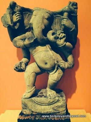 elephant god in show at Berkeley Art Museum in Berkeley, California