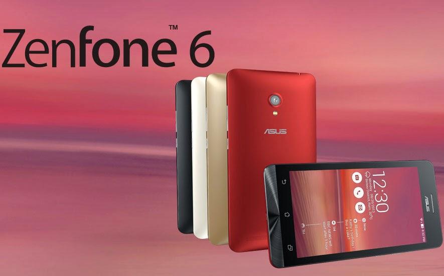 Andoid Mobile Smartphone Asus Zenfone 6 Model
