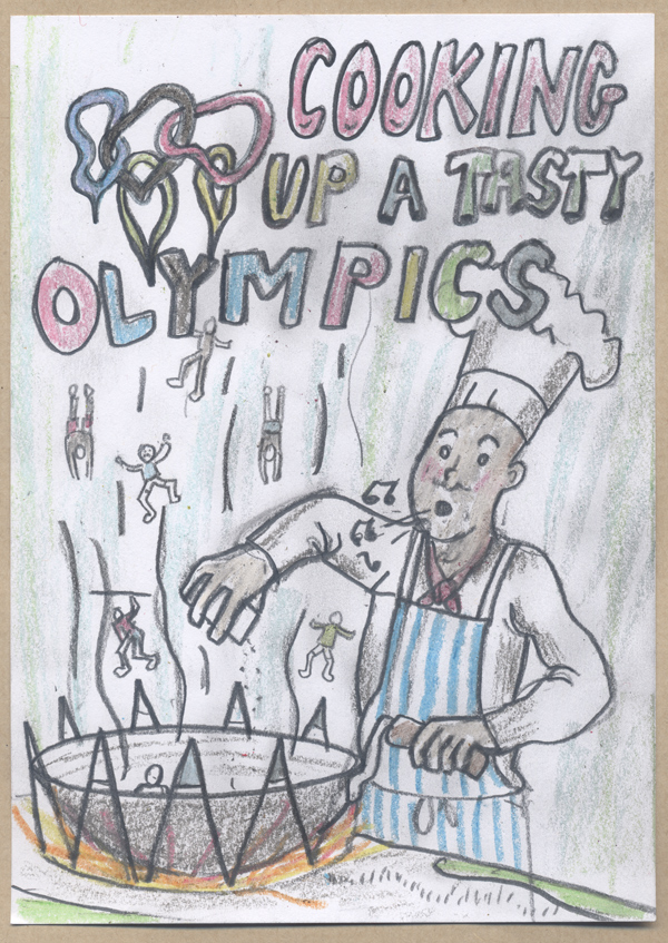 Barnaby Hughes - Cooking up a Tasty Olympics