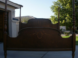 Charming King/California King Bed  *SOLD*