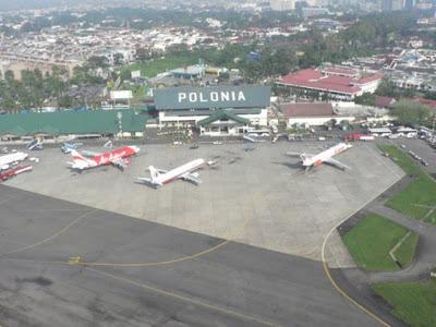 Bandara Polonia Sekarang