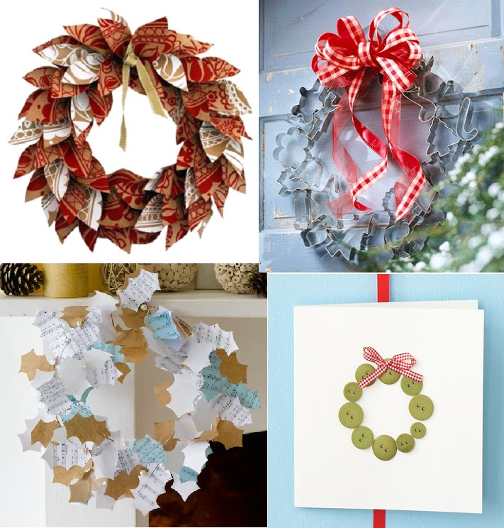make surprising and fun decorations as well as activities for kids and your recycling have some scrap paper extra ribbon pine cones - How To Make Your Own Christmas Decorations