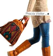Priscila Welter handbags, now online!