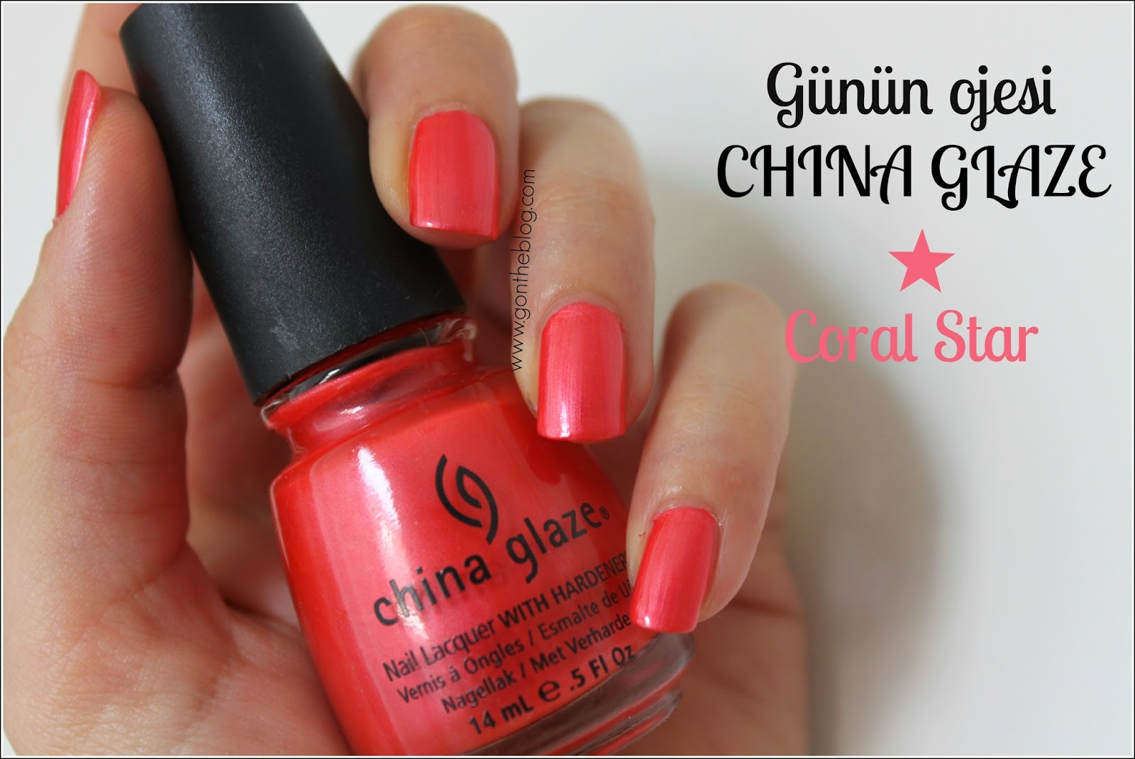 China Glaze Coral Star