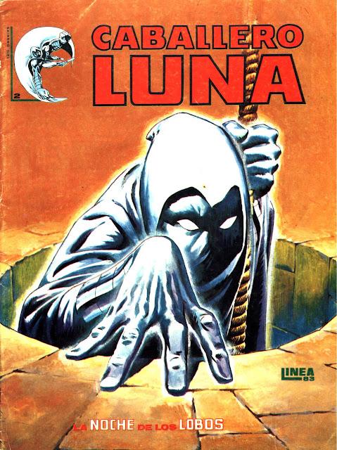 Portada del Caballero Luna Nº 2 Ediciones Surco
