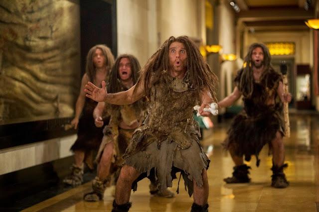 Caveman Ben Stiller Night At the Museum 3 still