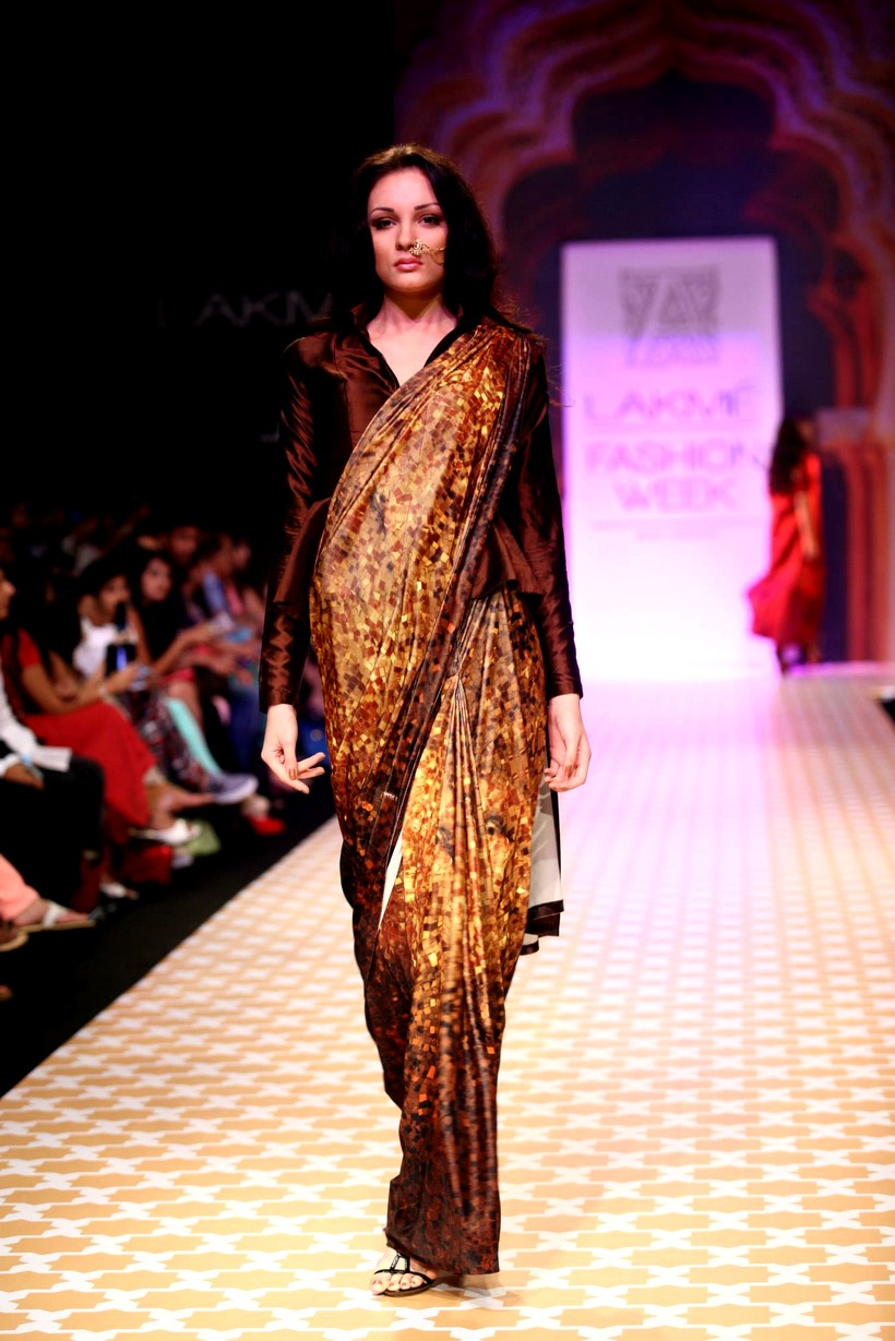 Kochhar Archana collection lakme fashion winter festive pictures