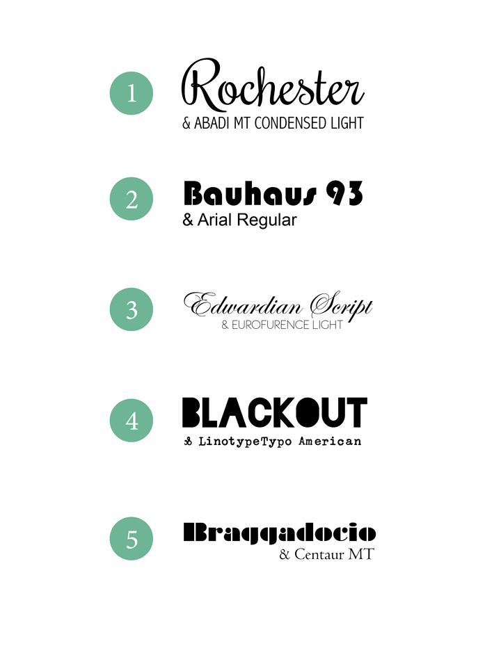 design fixation typeface tuesday 5 fantastic font combinations