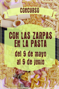 Concurso CON LAS ZARPAS EN LA PASTA
