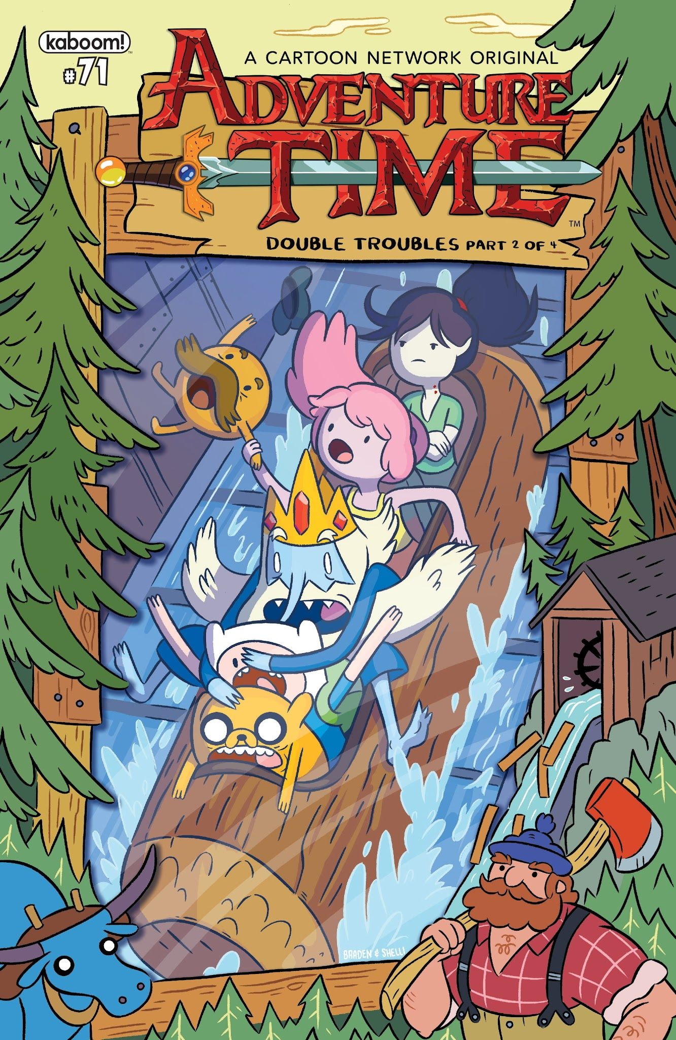 Adventure Time 71 Page 1