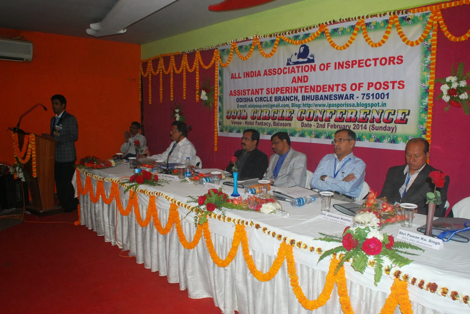 39th Circle Conference held on 02-02-2014 at Balasore