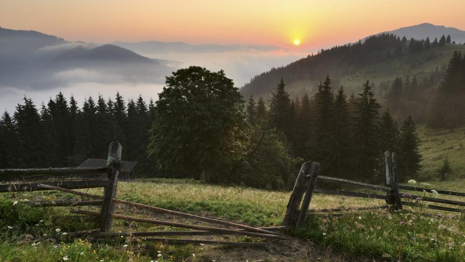 Ukraina, Karpaty, góry