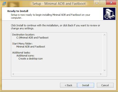 Install Minimal ADB and Fastboot