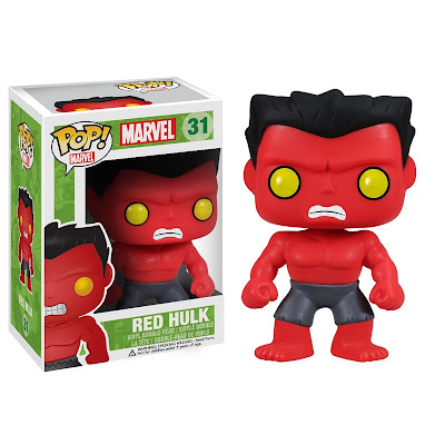 Red Hulk Pop! Marvel Vinyl Figure by Funko