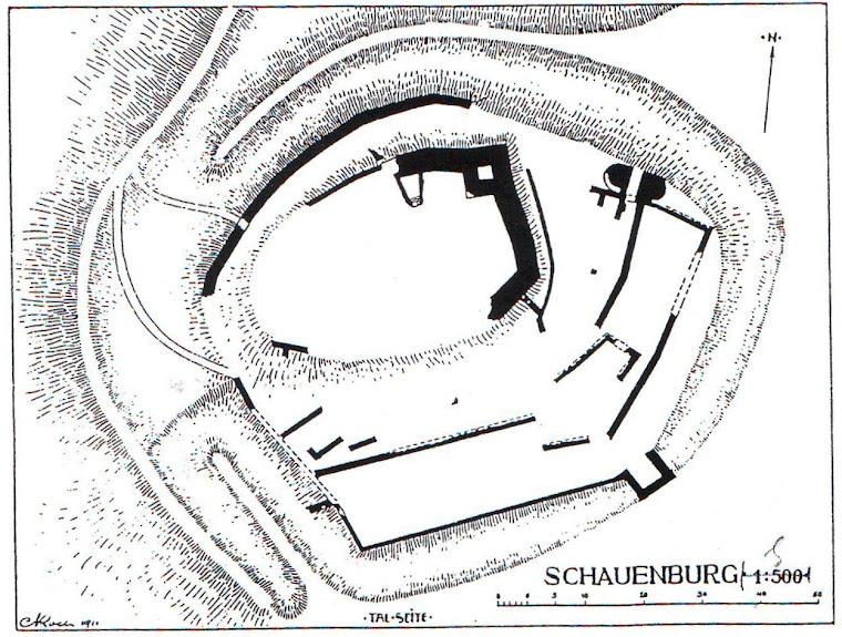 Grundriss nach C. Koch, 1911