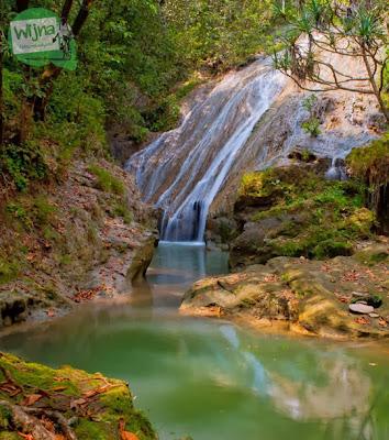 Air Terjun Banyunibo saat banyak air