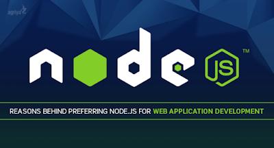 Blog post banner for Node.JS