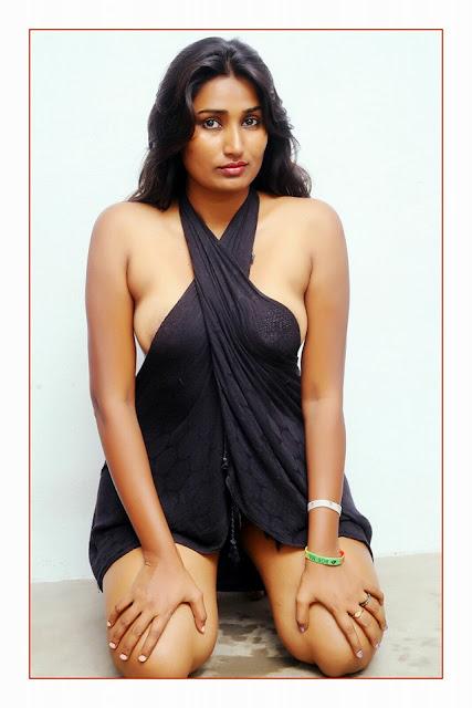 Indian bikini asshole