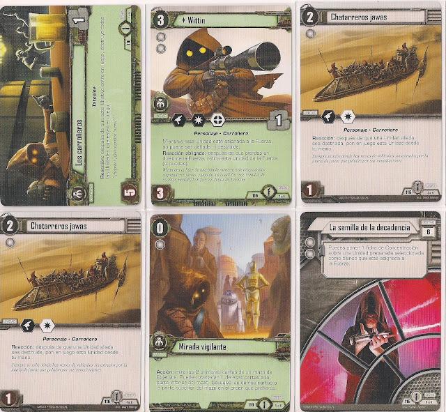 Expansión Star Wars LCG: Ciclo de Ecos de la Fuerza - Únete a nosotros o muere Los carroñeros