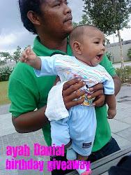 ayah Danial birthday giveaway