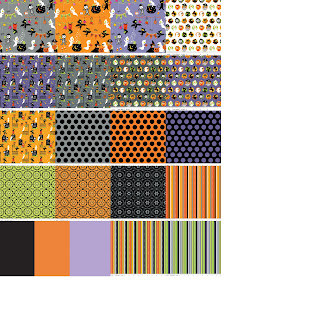Riley Blake Designs COSTUME CLUBHOUSE Halloween Quilt Fabric by Sheri Berry Designs