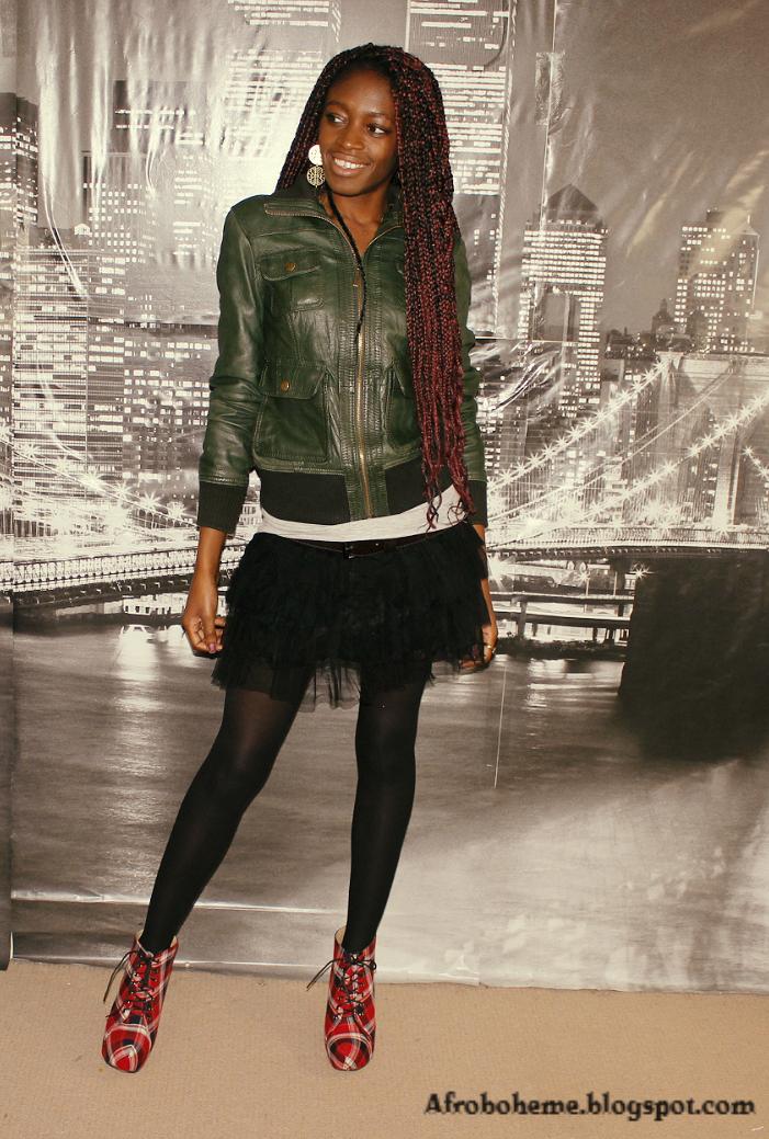 Afroboheme how to style bottes a carreaux vive la mode - Mode carreaux ...