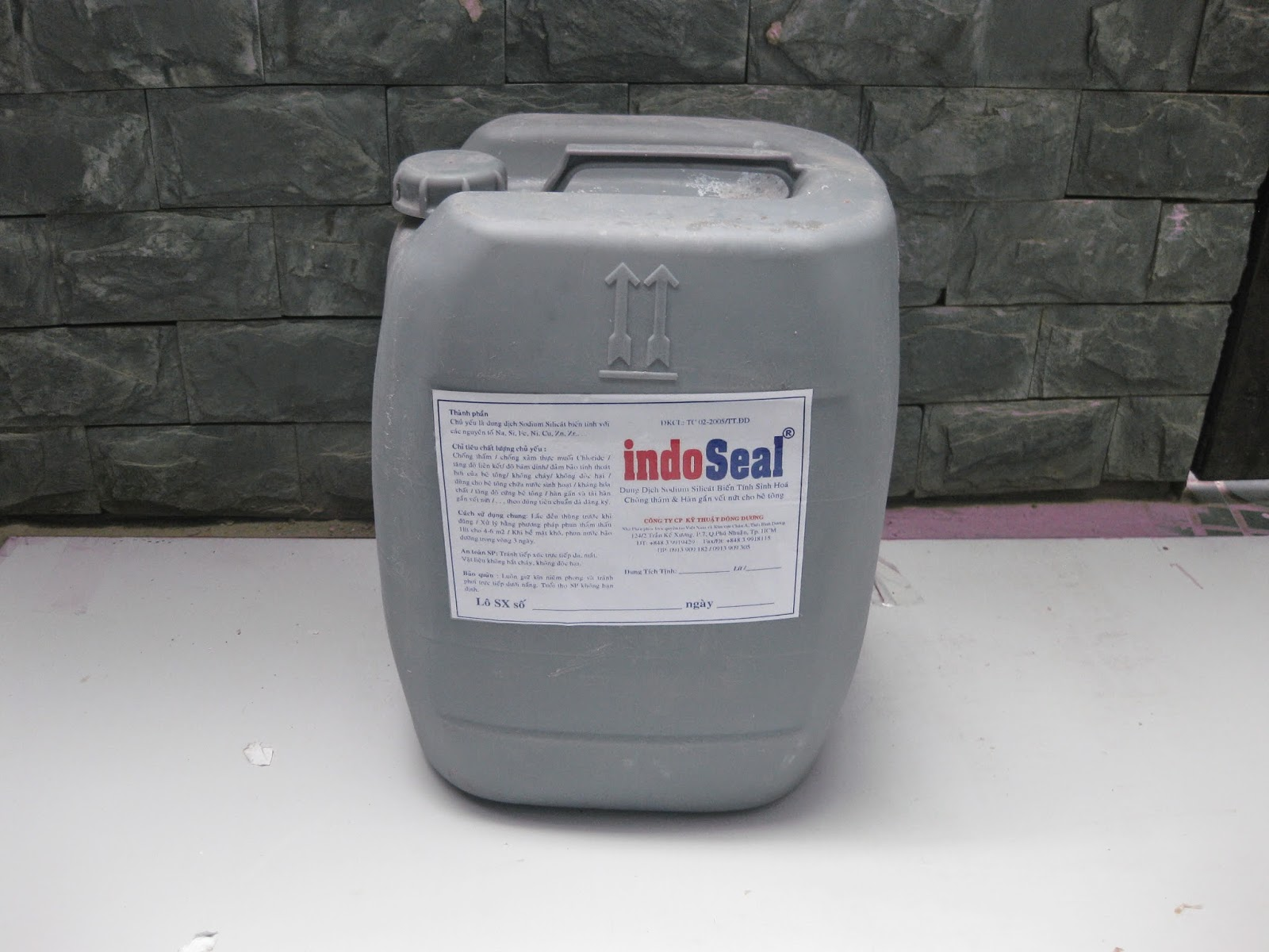 Chống Thấm Indoseal: ( Việt Nam)