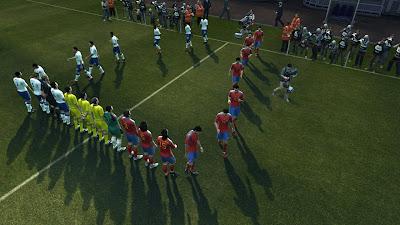 Euro 2012: England versus Spain : PES 2012