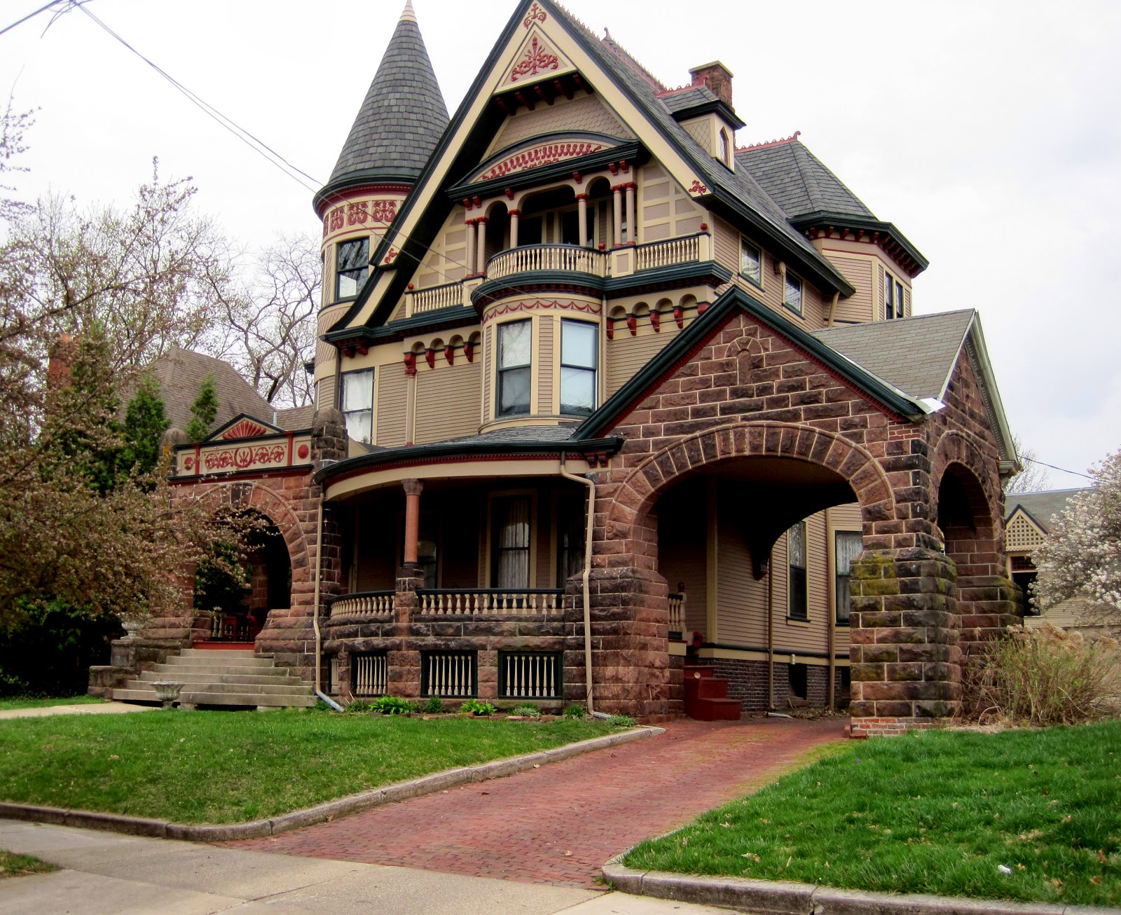 Stone Victorian House