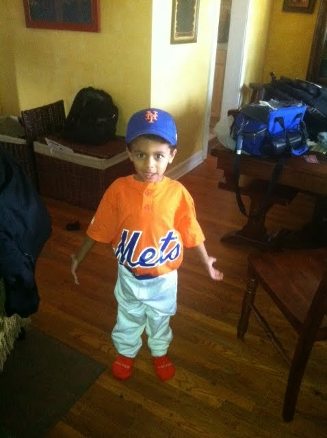 Noah's First TBall Team