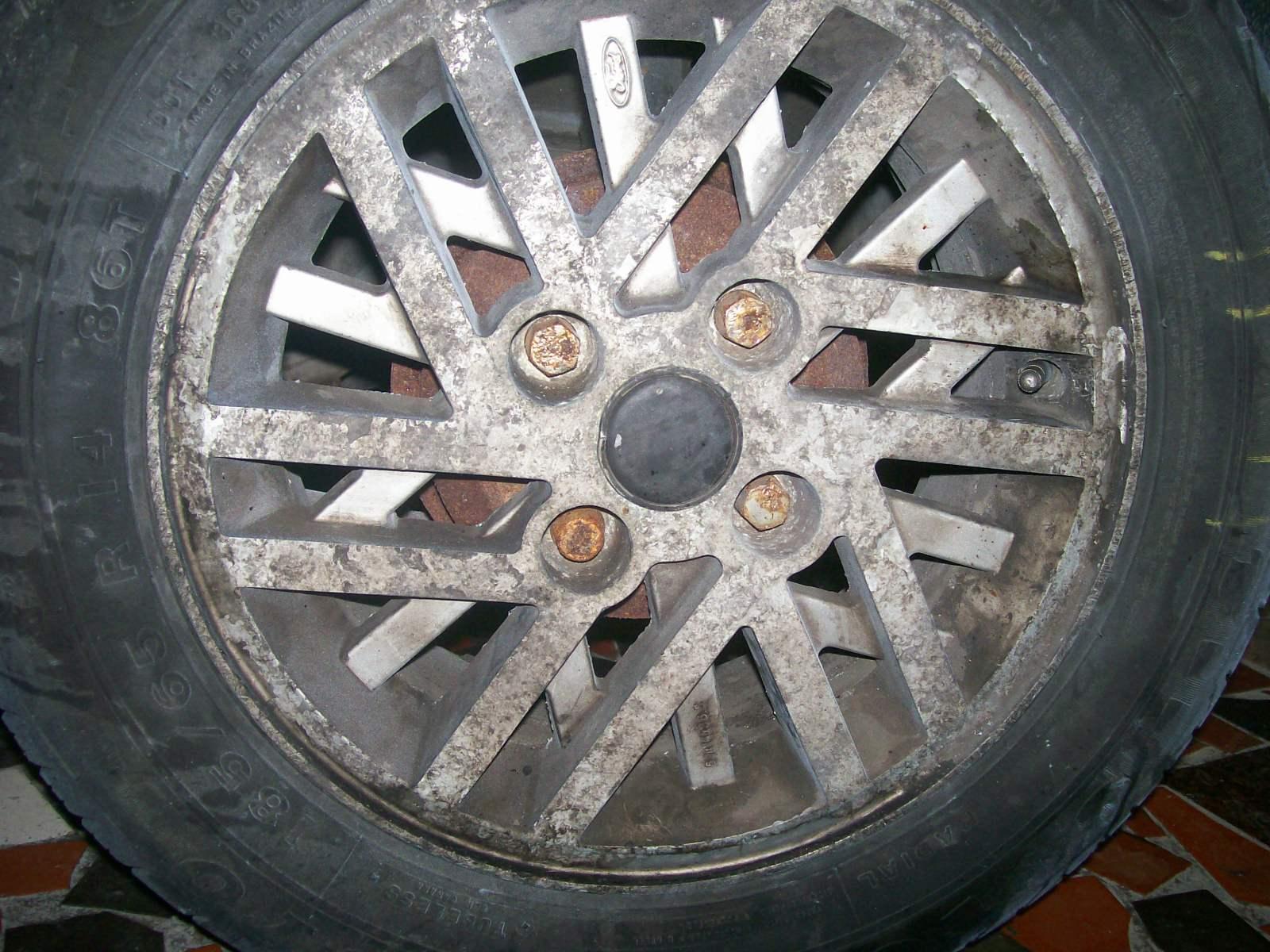 Como fazer reparos como pintar rodas de carros alum nio - Pintura para aluminio ...